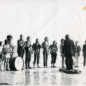 Sinfonia on Southsea beach 1970 web version