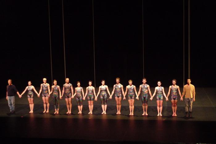 Final bow, Paris (all dancers) Dec 23 2011