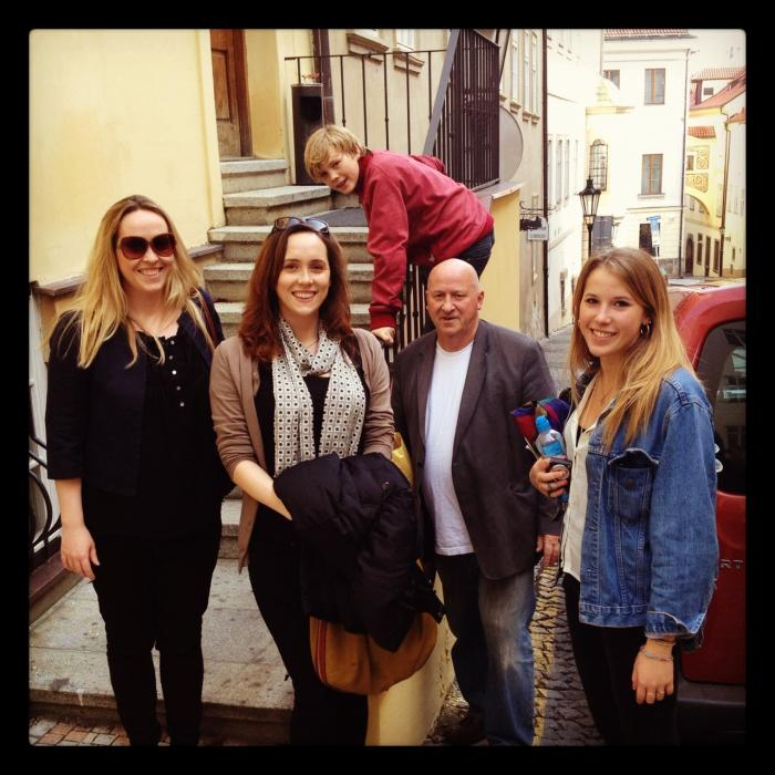 Bryars family band-Prague October 18 2012