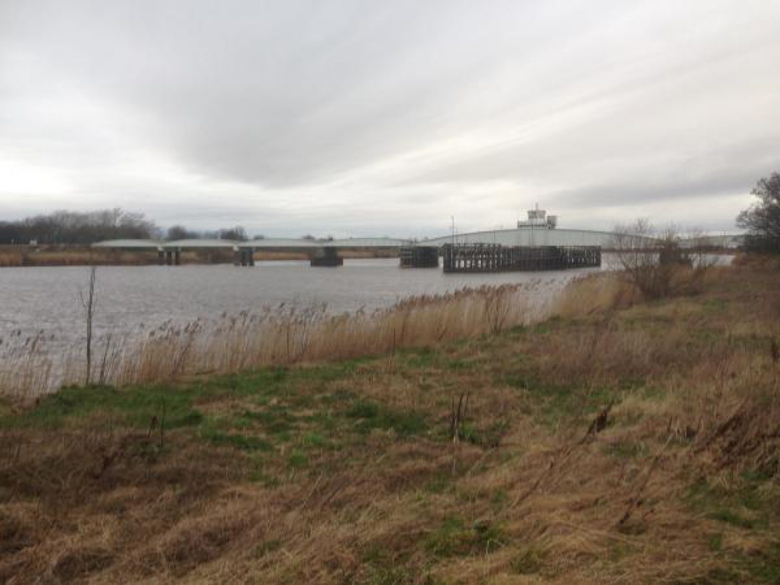 Railway bridge-other side of river