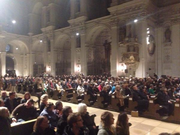 St Michael's Munich audience Nov 2014