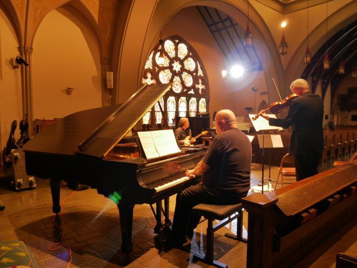 Lauda con sordino rehearsal cathedral 2