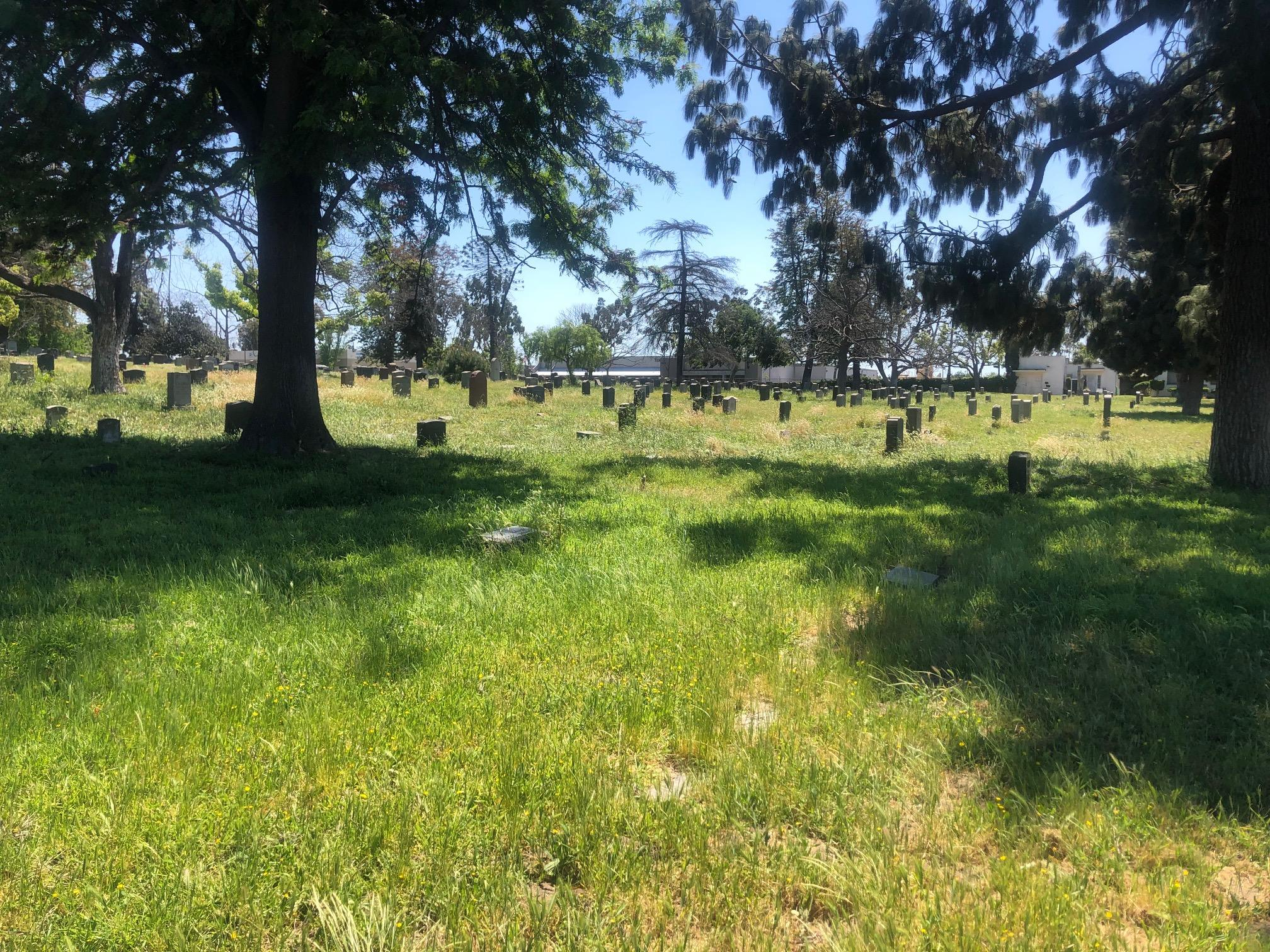 Long Beach cemetery