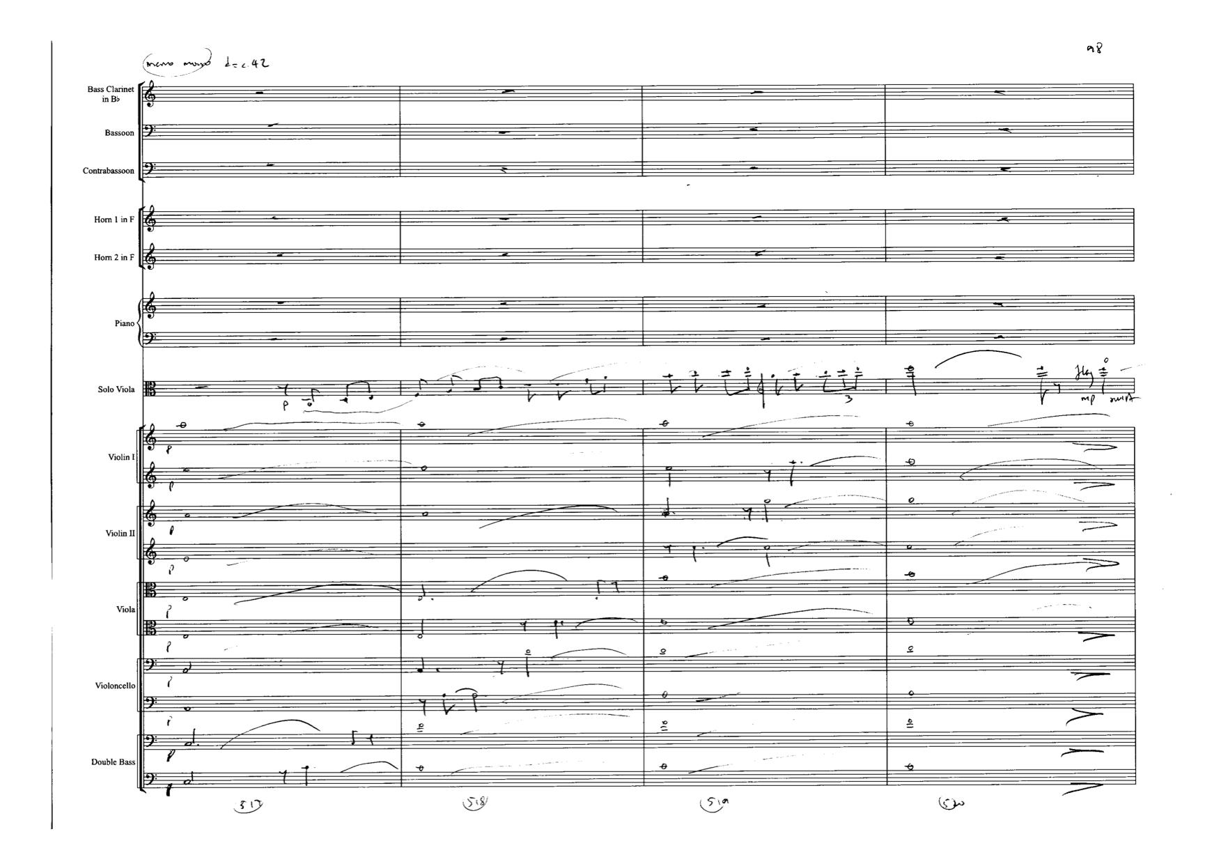 Viola Concerto penultimate page